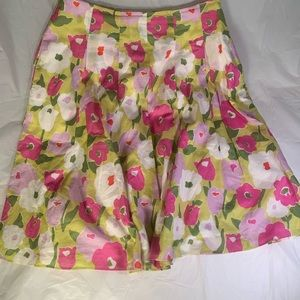 Liz Claiborne adorable flower skirt size 8